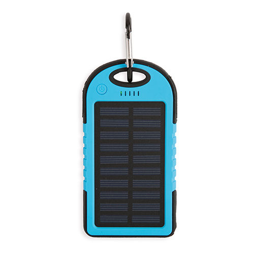 Power Bank solar resistente al agua. 4.000 mAh